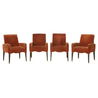 Olivier Gagnere's Cafe Marly Armchairs - Set of 4