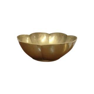 Large Brass Bowl