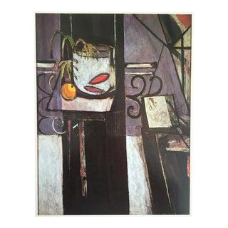"1973 Fauvist Lithograph Print - Henri Matisse ""Goldfish"""