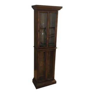 Thin China Cabinet with Light