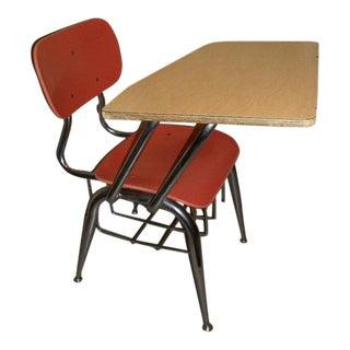 Vintage 1950's School Desk
