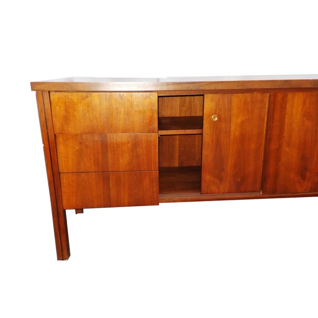 Mid Century Modern Wood Credenza - Image 4 of 6