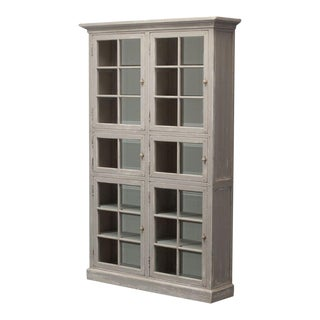 Sarreid Ltd Glass Doored Bookcase