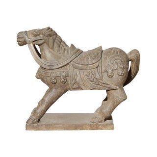 Tong Dynasty Style Chinese Horse Statue