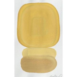 '3x Yellow' Minimalist Acrylic Painting