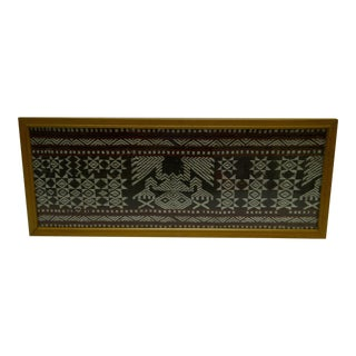 C 1930 Indian Design Woven Tapestry Piece