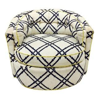 Vintage Barrel Back Club Chair