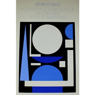 Albers French Exhibition Poster