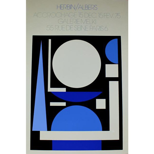 Albers French Exhibition Poster - Image 1 of 4
