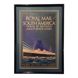 Royal Mail to South America Print