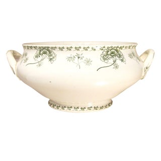 Antique French Transferware Tureen