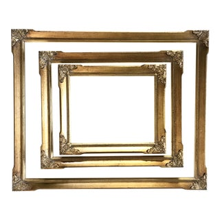 French Gold Frame - Set of 3