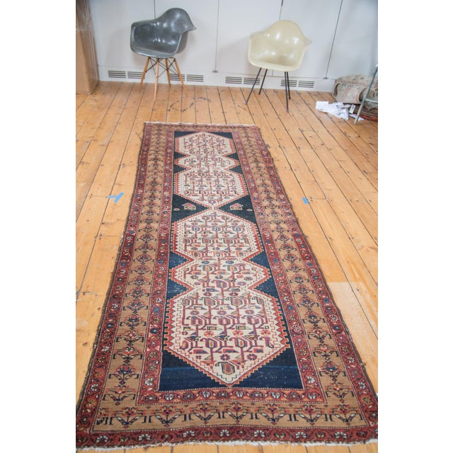 """Distressed Malayer Runner - 3'4"""" X 9'2"""" - Image 5 of 10"""