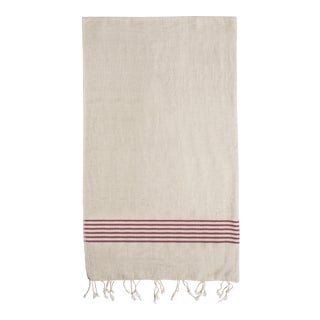 Striped Organic Cotton Turkish Towel