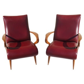 Italian Modern Lounge Chairs