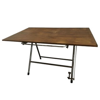 Vintage Industrial Architect Table
