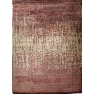 """Contemporary Hand-Knotted Rug - 9'3"""" x 12'1"""""""
