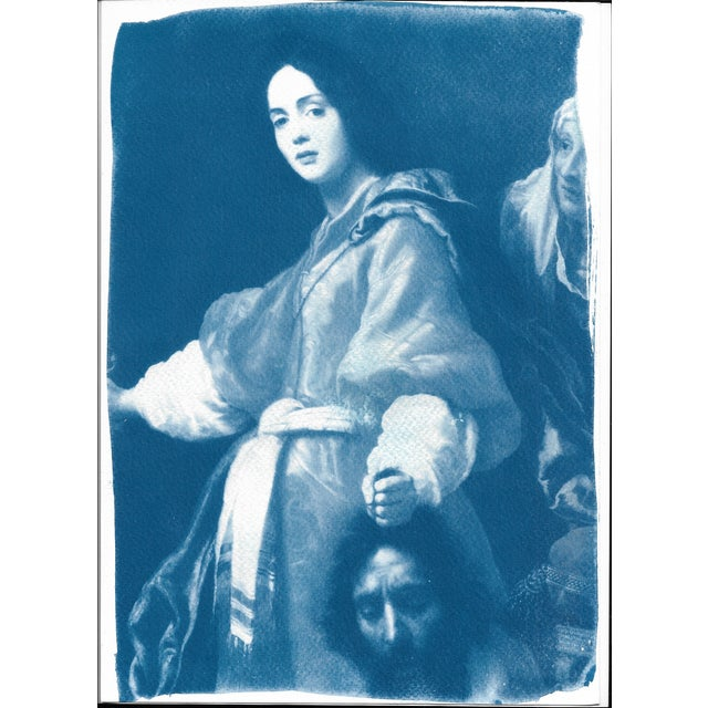 Cyanotype Print - Allori Painting of Judit - Image 4 of 4