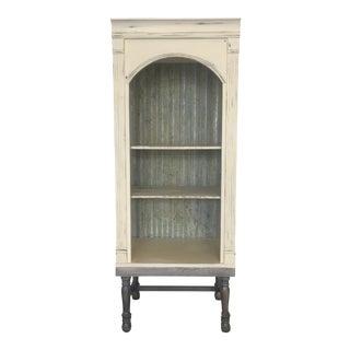 Industrial Rustic Metal Cabinet
