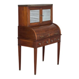 Antique French Louis XVI Style Neoclassical Mahogany Secrétaire circa 1820