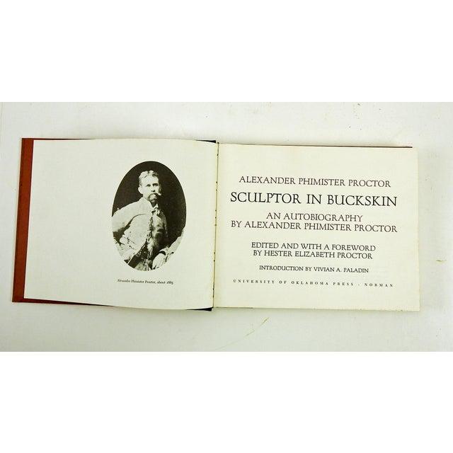 "Alexander P. Proctor ""Sculptor in Buckskin"" 1971 Book - Image 6 of 11"