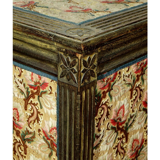A Louis XVI Style Trunk or Lift-top Table - Image 5 of 7