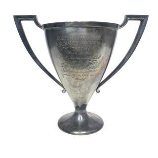 Silver Plate Loving Cup Trophy San Francisco 1922