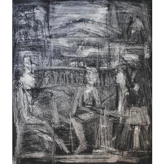1965 Expressionist Lithograph by Mark Luca