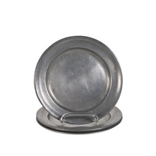 Pewter Plates - Set of 4