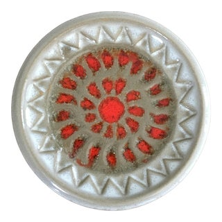 Mid-Century Robert Maxwell Blenko Coaster