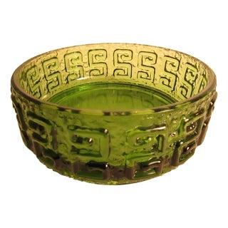 Scandinavian Retro Glass Bowl