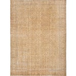 Image of Vintage Pastel Turkish Over-Dyed Rug - 7' X 9'8""