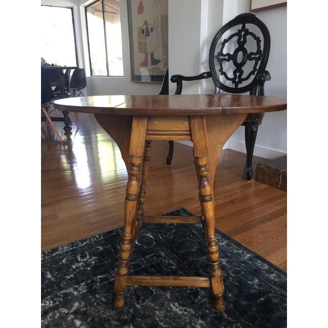 Mary & William Gateleg Side Table - Image 3 of 7