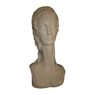 Ceramic Bust of Woman