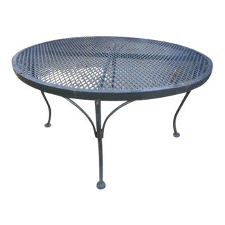 Russell Woodard Style Mesh Sculptural Side Table