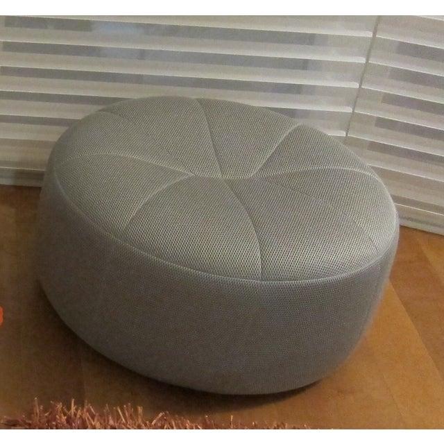 ligne roset pumpkin round ottoman beehive titane chairish. Black Bedroom Furniture Sets. Home Design Ideas