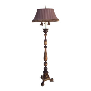 Tuscan Style Altar Stick Floor Lamp