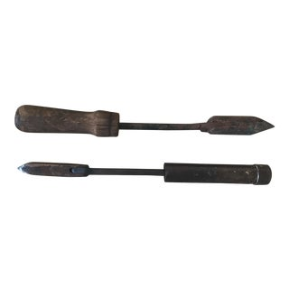 Primitive Soldering Iron Tools- A Pair