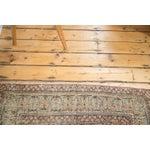 "Image of Antique Distressed Lavar Kerman Rug - 4'2"" X 6'9"""