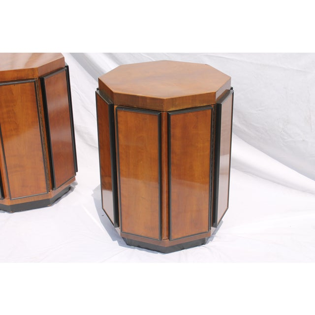 Henredon Mid-Century Nightstands or End Tables - A Pair - Image 4 of 11