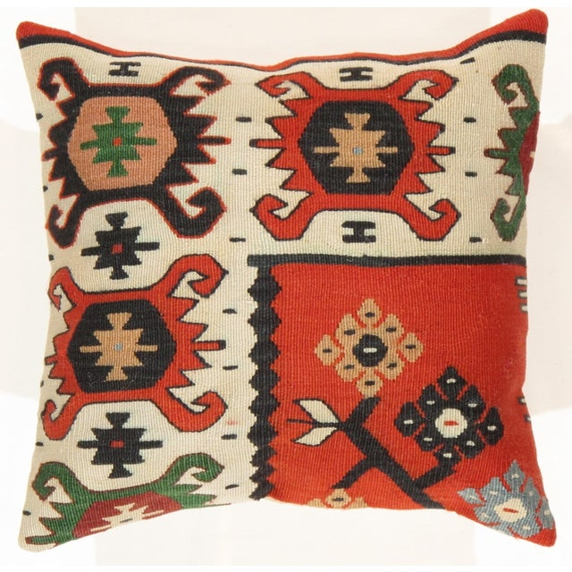 Pasargad Decorative Vintage Kilim Pillow - Image 3 of 3
