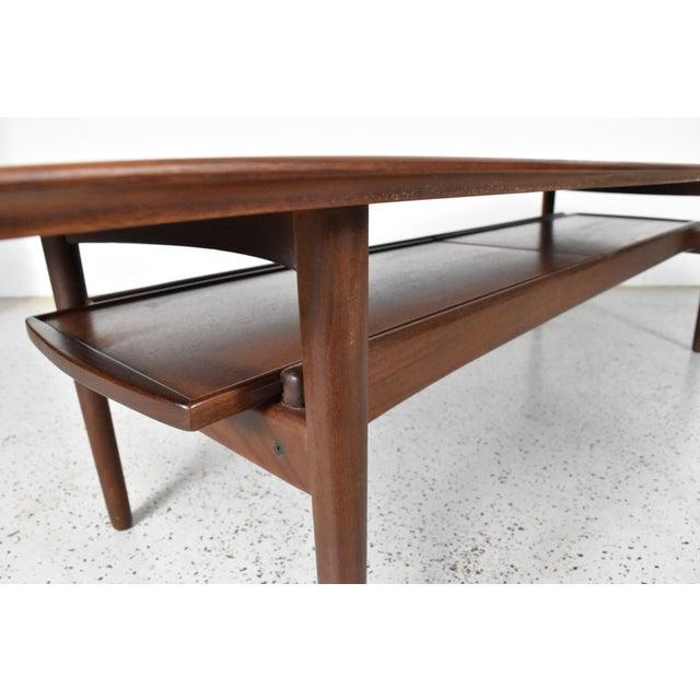 Bramin Møbler Teak Surfboard Coffee Table - Image 6 of 7