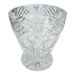 Large Crystal Champagne Bucket