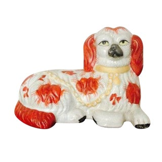 Staffordshire Style King Charles Spaniel Figure