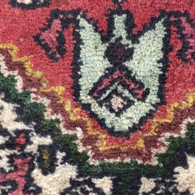 "Vintage Hamadan Persian Rug - 1'5"" x 2'11"" - Image 7 of 8"
