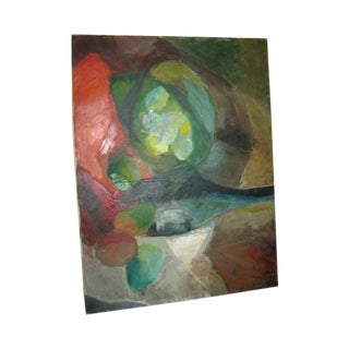 Mordern Abstract Acrylic Mixed Oil Painting