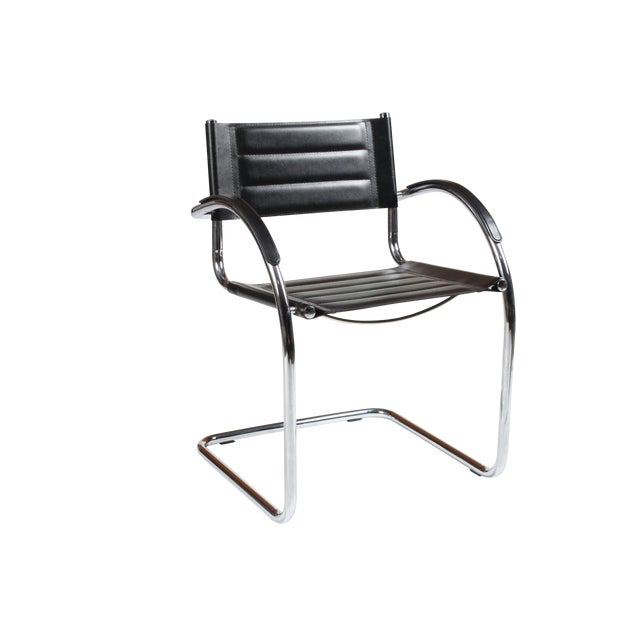 Mid Century Mod Chrome Chairs - Set of 5 - Image 1 of 4
