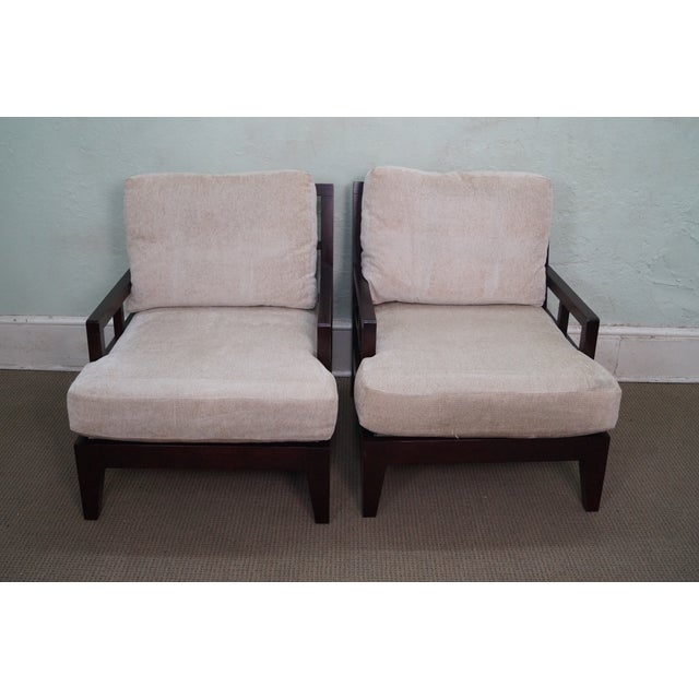 Image of Bernhardt Barbara Barry Style Lounge Chairs - 2
