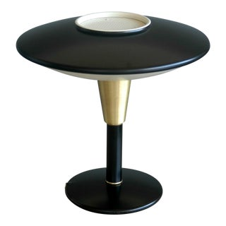 1950s Flying Saucer Desk Lamp by Dazor