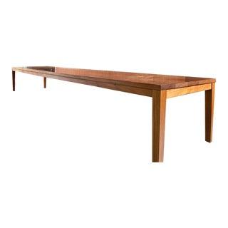 Custom Mahogany Dining Table